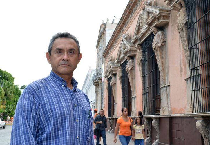 Limbergh Herrera Balam habló sobre la importancia del evento. (Theany Ruz/SIPSE)