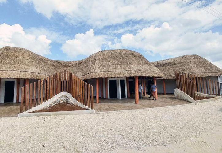 Estará instalado al lado de la casa ejidal de Pedro A. Santos. (Joel Zamora/SIPSE)