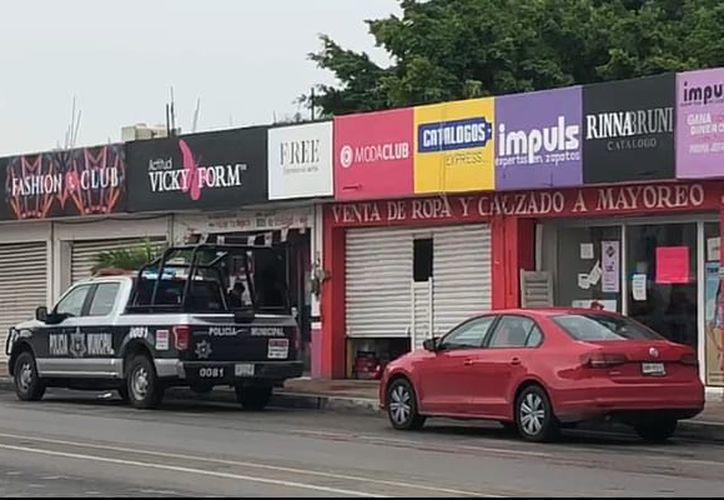 Un establecimiento de venta de lencería, ubicado  en el centro de Chetumal, fue asaltado con violencia a plena luz del día. (Eddy Bonilla/SIPSE)