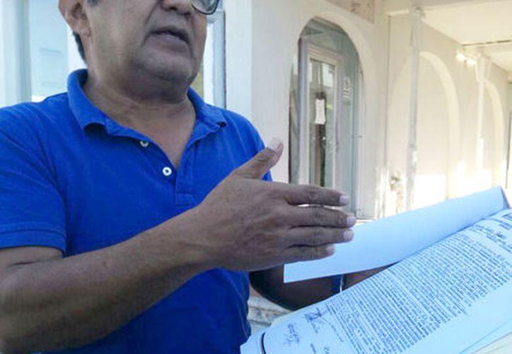 Indicaron que esperan que el laudo sea favorable, pues ha mostrado las irregularidades cometidas por las autoridades. (Joel Zamora/SIPSE)