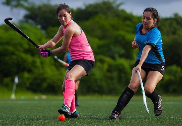 La modalidad de la disciplina será hockey siete, para darle mayor dinamismo a la competencia. (Redacción/SIPSE)