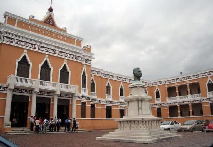 Sede en Mérida del PRI, que es de los que más recursos públicos recibe. (SIPSE)