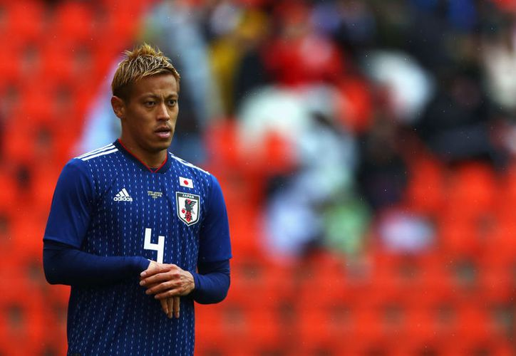 Keisuke Honda, quien juega actualmente el Mundial con Japón, tuvo una gran influencia deportiva y en general gracias a Pelé (Foto: foxsportsasia.com) (Foto: foxsportsasia.com)