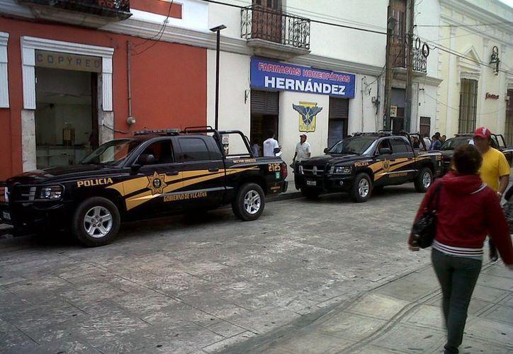 El engaño de Lorena del Carmen González Fernández ocasionó intensa movilización policíaca. (Jorge Sosa/SIPSE)