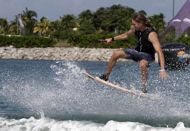 La segunda fecha del mundial de wakeboard se realizará este mes. (Archivo/SIPSE)