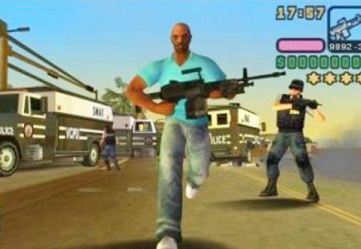 Imagen del famoso juego GTA que consiste en robar y asesinar tanto para cumplir misiones de la mafia como para divertirse, así como el grupo de rusos que sigue las mismas reglas. (rockstargames.com)