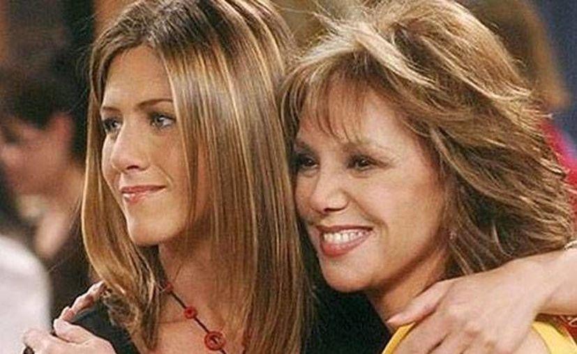 Jennifer Aniston y su madre Nancy Down pudieron dejar de lado sus diferencias y permanecer unidas antes del adiós (Instagram).