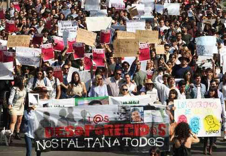 Autoridades del estado informaron de la desaparición forzada de otros tres estudiantes. (Arturo Campos Cedillo/La Jornada)