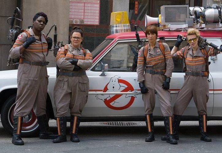 'Las Cazafantasmas' llegarán a los cines el próximo 15 de julio. (Imagen tomada de ecartelera.com)