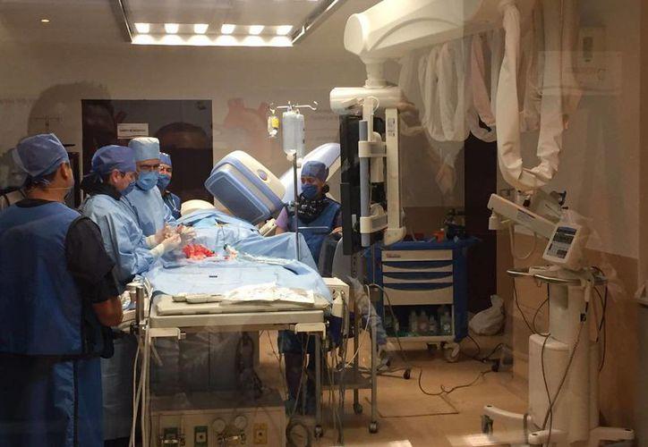 Pablo M. Z. de siete años, presentó un defecto un soplo en el corazón al nacer. (Luis Soto/SIPSE)