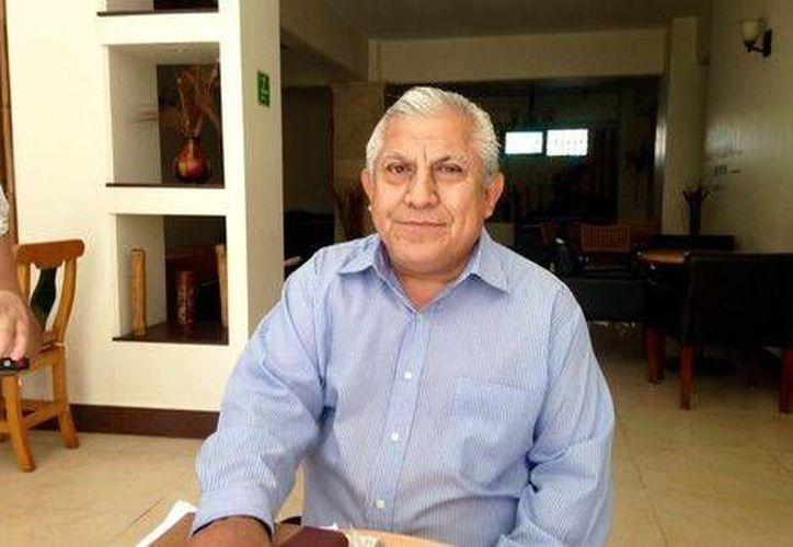 José Luis Hernández Rivera, director de la Normal de Ayotzinapa, indicó que la desaparición de los 43 estudiantes repecutió en la vida institucional. (Milenio)