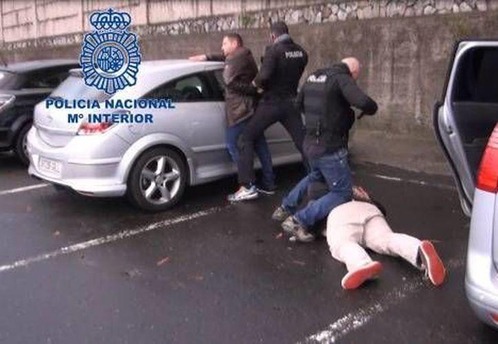 España logró desmantelar una banda de tráfico de cocaína. (Policía Nacional de España)