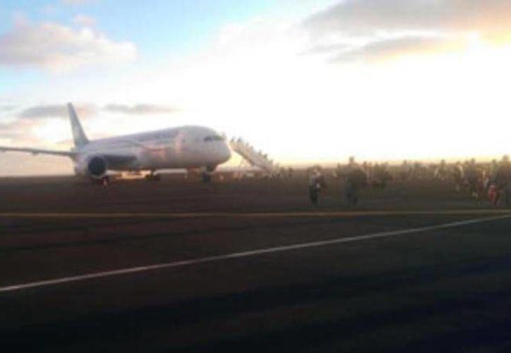 Aviones de Aeroméxico e Interjet tuvieron un 'encuentro' peligroso en el aeropuerto de Mérida. No hubo heridos ni daños materiales. (Foto: SIPSE Noticias)