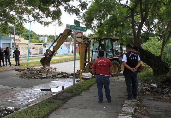 CAPA realizó un estudio para ubicar los sectores que necesitan mantenimiento y reparación de fugas. (Ángel Castilla/SIPSE)