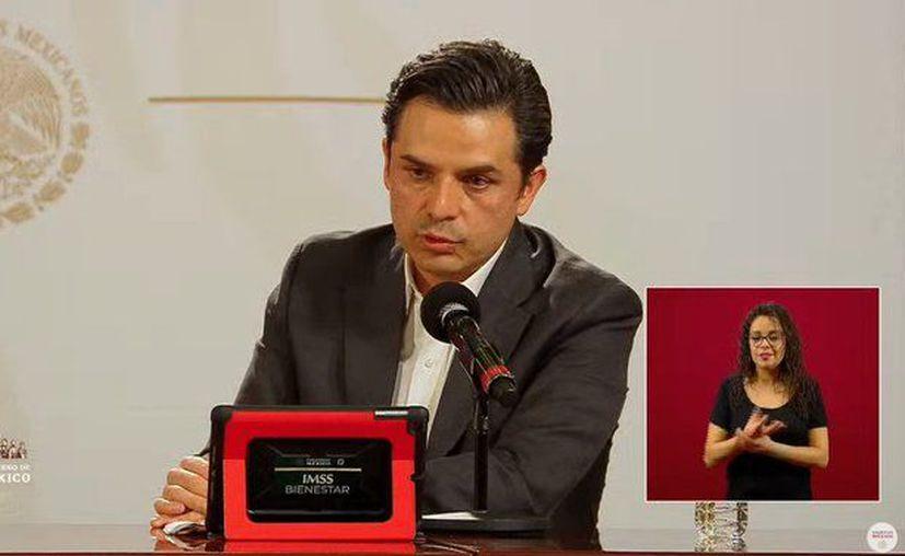 El Dr. Zoé Robledo, Director General del IMSS. (Foto: Ssa).
