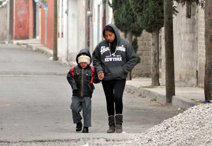 El SMN pronostica de cero a cinco grados centígrados en San Luis Potosí, Querétaro, Ciudad de México, Veracruz, Oaxaca y Chiapas. (Foto de archivo/Notimex)