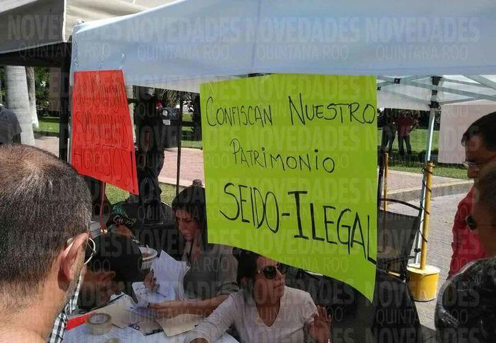 La acción de la autoridad violenta los derechos humanos e impacta a familias. (Israel Leal/SIPSE)