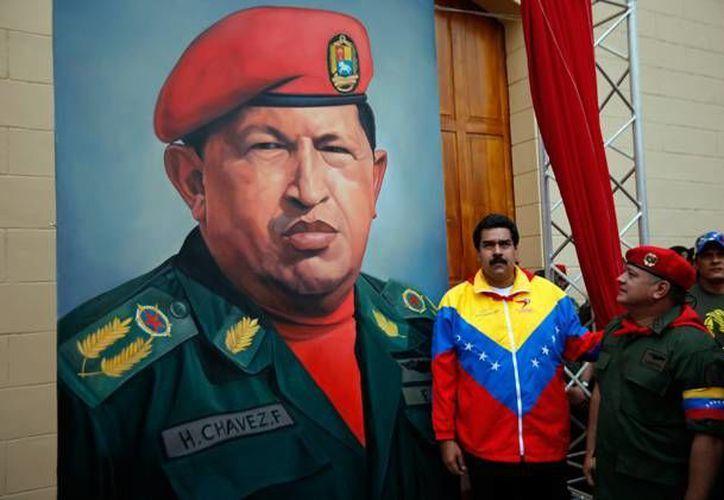 Maduro comparó reiteradas veces a Hugo Chávez con Jesucristo en su mensaje. (Internet)