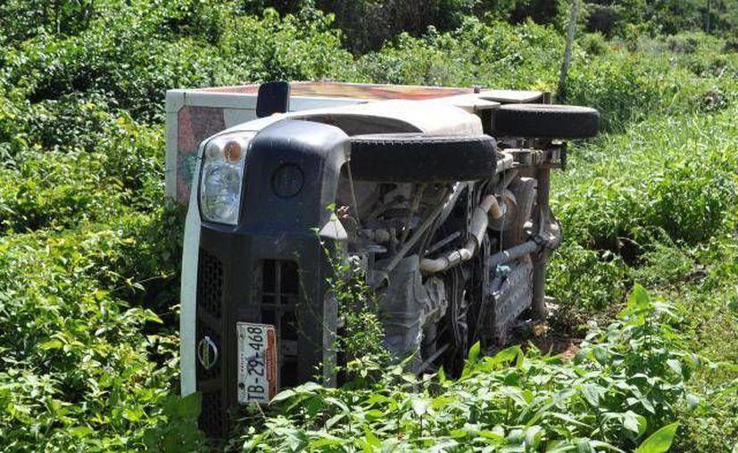 Se desconocen las causas que propiciaron el accidente. (Archivo SIPSE)