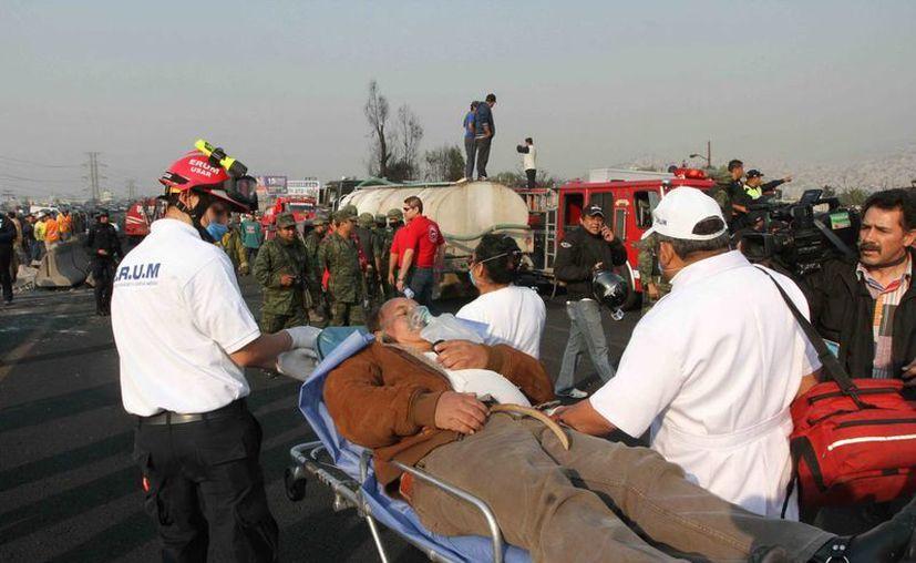 La explosión ha dejado hasta el momento 24 personas fallecidas. (Archivo/Notimex)