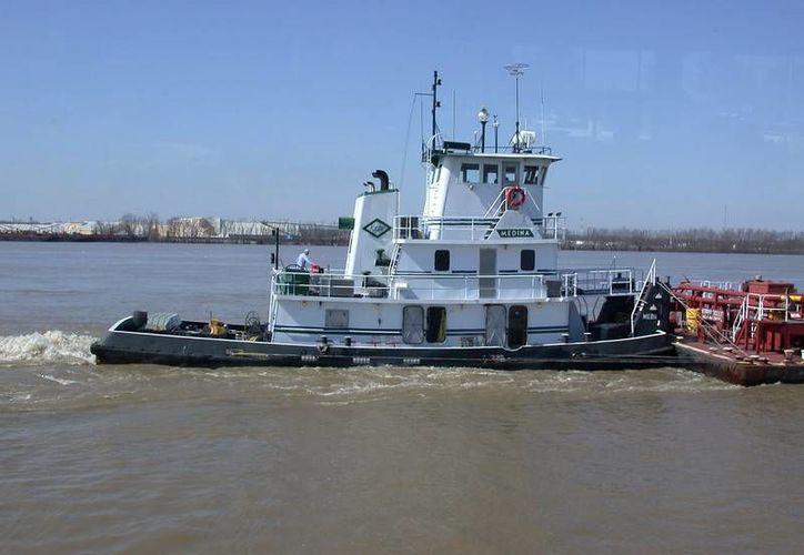Se informó que este sábado por la mañana se hundió un remolcador en el río Mississippi. Imagen ilustrativa.(cmgpals.smugmug.com)