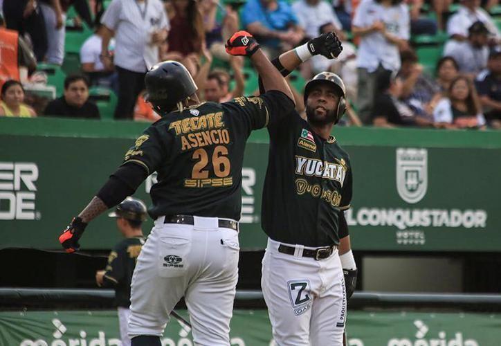 Los melenudos poseen la sexta mejor ofensiva del circuito, encabezada por Héctor Hernández, Alex Valdez y Yeison Asencio. (Novedades de Yucatán)