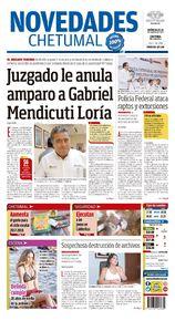 Juzgado le anula amparo a Gabriel Mendicuti Loría
