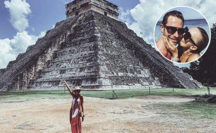 A los actores se les puede ver muy activos en redes sociales publicando sus visitas a las zonas arqueológicas. (Foto: redes sociales)