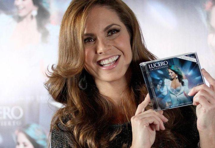 """Lucero ha concentrado toda su carrera en Televisa, en donde inició a los 10 años como presentadora del programa cómico infantil """"Chiquilladas"""". (Archivo Notimex)"""