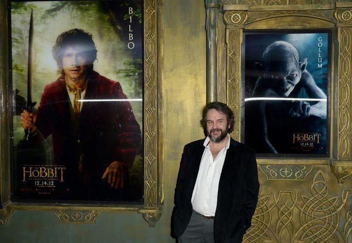 Peter Jackson, director de la franquicia del Hobbit, tiene puesta sus esperanzas en conquistar a una nueva generación de fans. (EFE/Archivo)