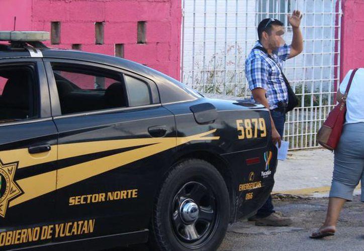 El cuerpo de la mujer fue descubierto por su hijo, ya que los vecinos avisaron de la ausencia de la mujer en la zona. (Aldo Pallota/SIPSE)