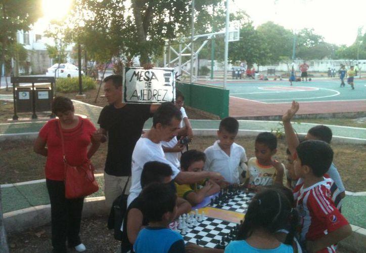 Entre las actividades culturales de hoy, habrá partidas de ajedrez. (Adrián Barreto/SIPSE)