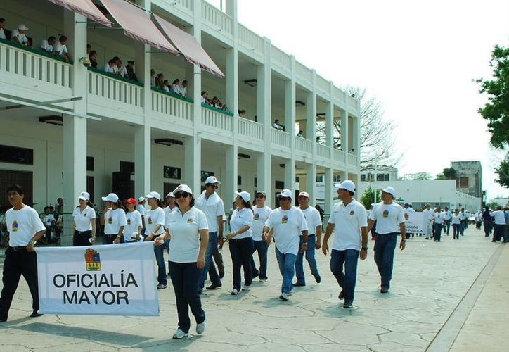Participarán145 sindicatos de trabajadores de diversos gremios y de dependencias de los tres niveles de gobierno. (Redacción/SIPSE)