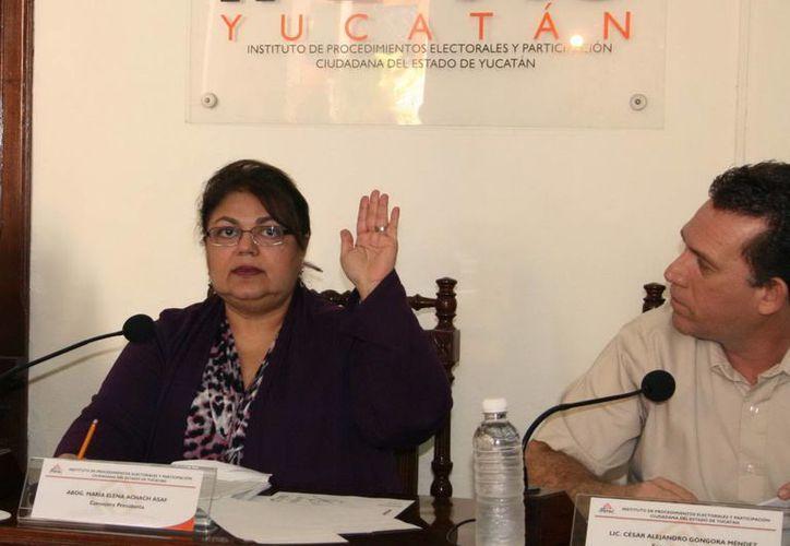 María Elena Achach aplica censura al interior del Ipepac. (Milenio Novedades)