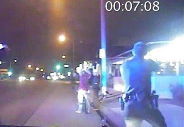 La policía de Los Ángeles había luchado por la vía legal para impedir que los videos del ataque salieran a luz pública. (Captura de pantalla/YouTube)