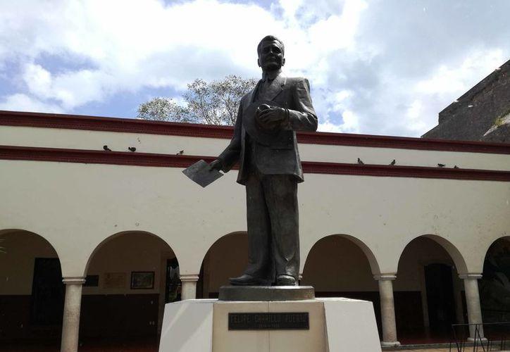 En la ciudad sólo cuentan con cuatro monumentos. Los promotores culturales instan a instaurar a profundidad la identidad el municipio. (Jesús Castillo/SIPSE)