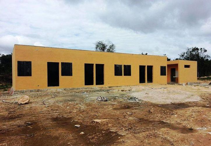 El albergue de Juan Sarabia cuenta con 10 dormitorios, cocina, comedor, baños separados y área de lavado. (Edgardo Rodríguez/SIPSE)