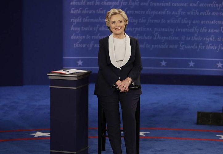 Según la casa de apuestas PaddyPower, Clinton tiene más del 80 por ciento de probabilidades de llegar a la Casa Blanca. (Archivo/John Locher/The Associated Press)