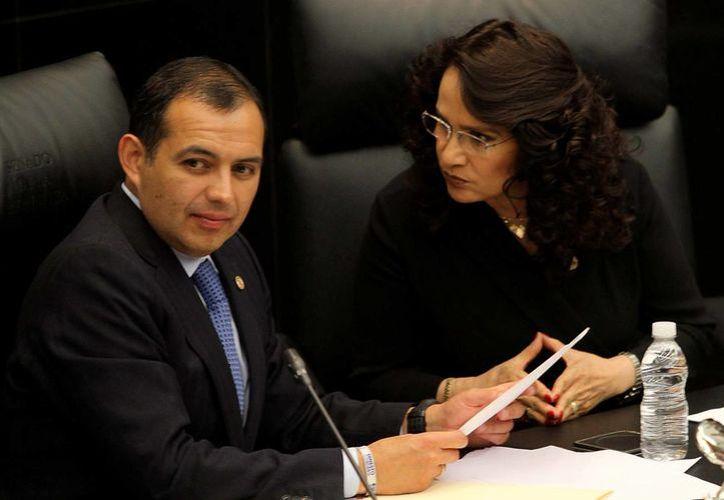Ernesto Cordero (foto) señaló que Madero tiene el acceso al padrón de panistas que podrán votar para elegir al nuevo presidente blanquiazul. (Notimex)