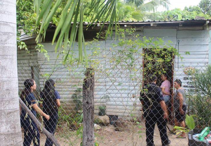 Una niña de 10 años de edad escapó de su casa, en la comunidad de Calderitas, bajo el argumento de que sufre violencia. (Redacción/SIPSE)