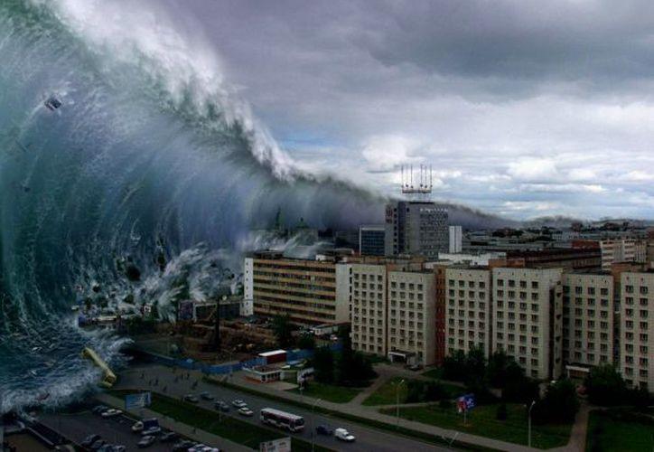 La probabilidad de que se produjeran inundaciones inducidas por tsunamis aumentaban drásticamente. (Internet)