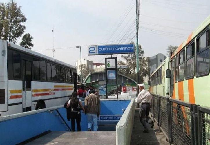 La adolescente fue baleada en el Metro Cuatro Caminos, en la Ciudad de México. (Foto: Internet)