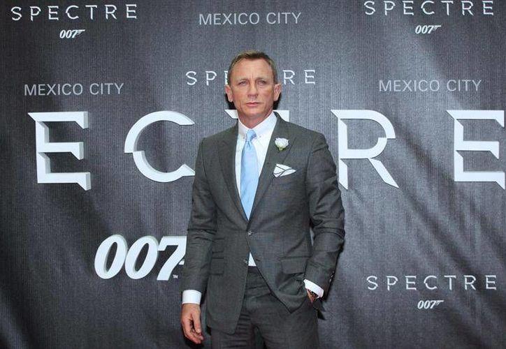 'Spectre' fue la última película de Daniel Craig como el 007, esto a pesar de que tenía el ofrecimiento de 88 millones de euros por dos películas más.  (Archivo/ EFE)