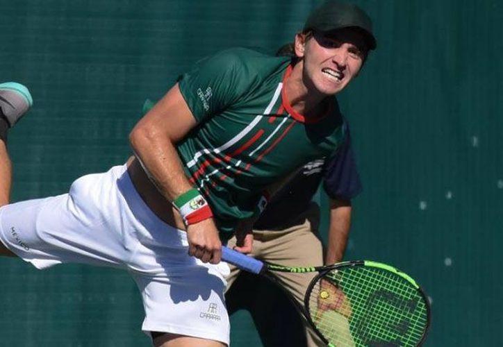 Manuel Sánchez y Luis Patiño, el equipo mexicano de tenis venció a costa Rica. (Foto: Uniradio)