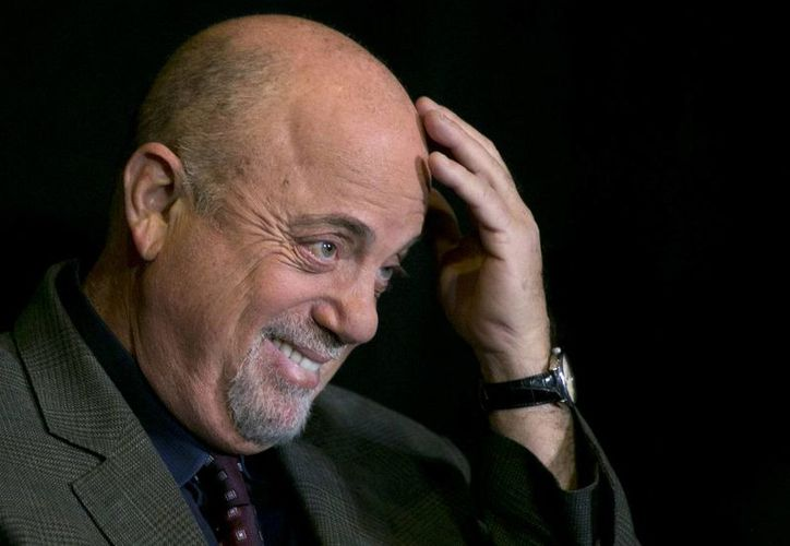 Billy Joel durante una conferencia de prensa en el Madison Square Garden en Nueva York. (Agencias)