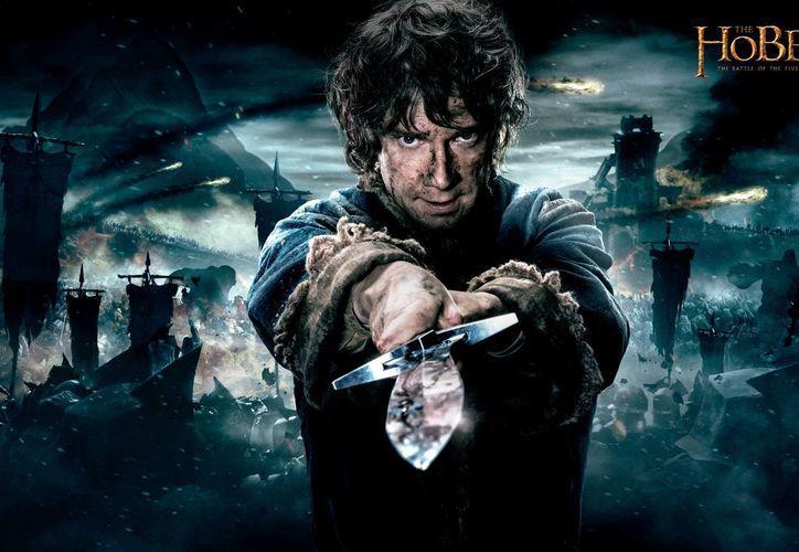 Imagen de la cinta The Hobbit: The Battle of the Five Armies (El hobbit: La batalla de los cinco ejércitos) una producción de New Line Cinema y Metro-Goldwyn-Mayer Pictures (MGM). (Agencias)