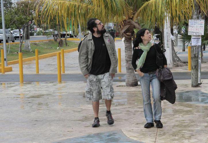 A partir de la segunda semana de diciembre la temperatura descenderá a 18 o 16 grados centígrados. (Tomás Álvarez/SIPSE)
