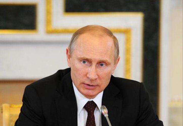 """Putin también afirmó hoy que Occidente evita en diálogo en temas como la """"expansión de la OTAN"""" en el Este así como del escudo antimisiles en Europa. (Agencias)"""