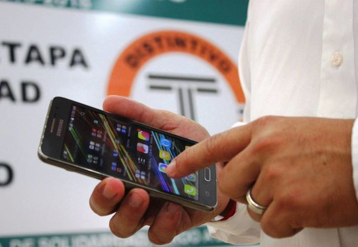El Sindicato de Taxistas de Playa del Carmen iniciará con las pruebas piloto de la App en 15 días. (Daniel Pacheco/SIPSE)