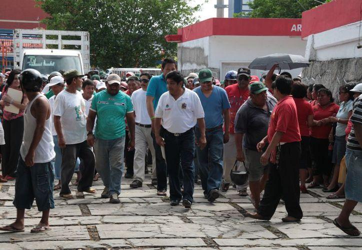 El contrato colectivo de los sindicalizados no se ha resuelto desde hace cuatro meses. (Julián Miranda/SIPSE)